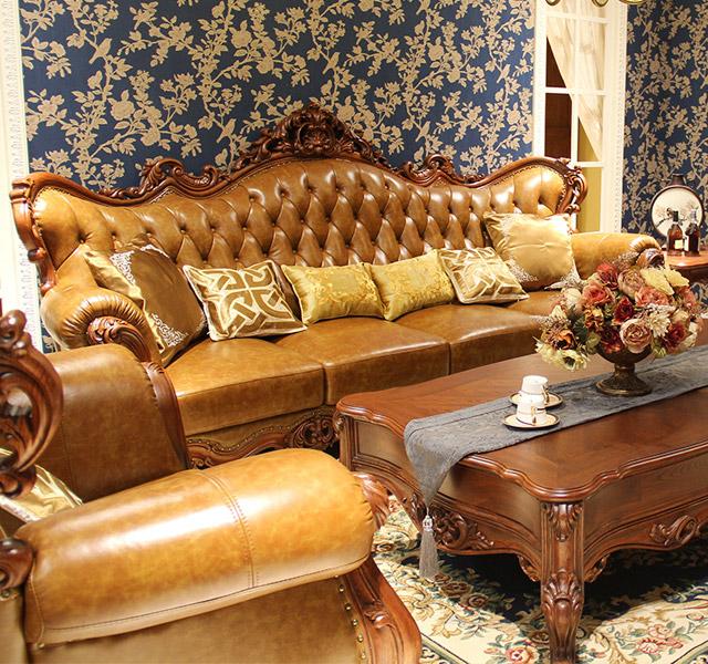 美式沙发m157