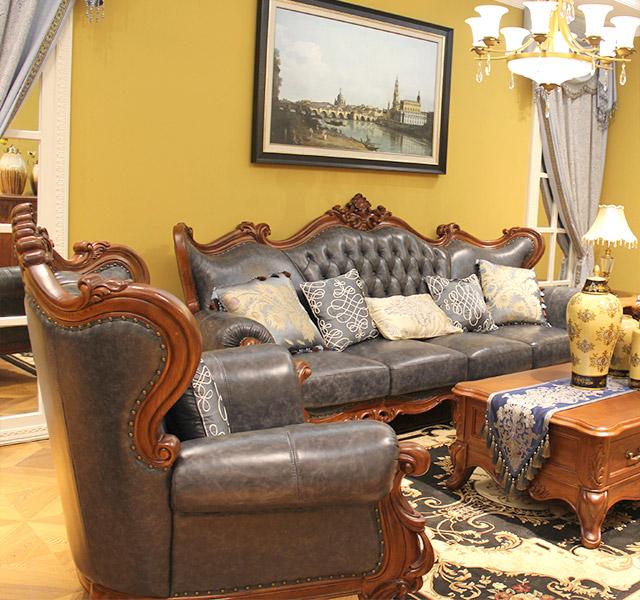 美式沙发m156