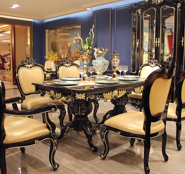 新古典餐桌8916