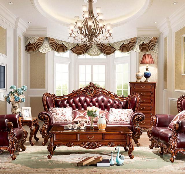 欧式沙发8935