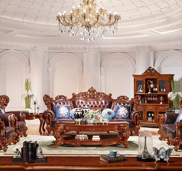 欧式沙发8936