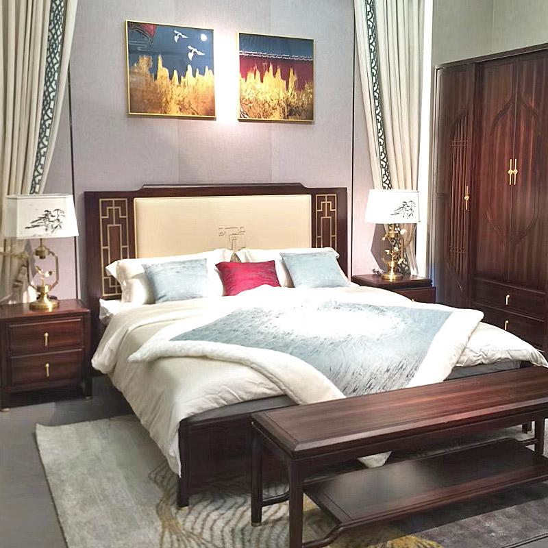 新中式家具TM9908床