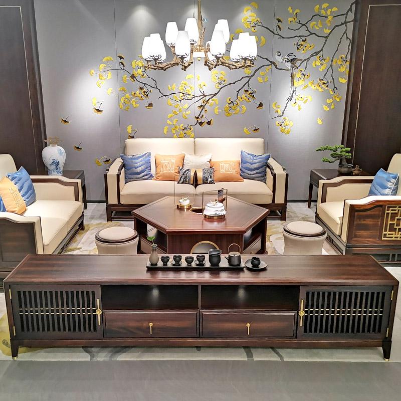 新中式家具9908沙发